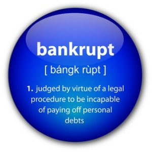 bankrupt definition