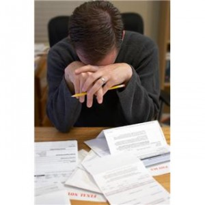 Debt consolidation can help when you are stressed over bill payments