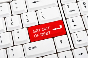 click here to get out of debt
