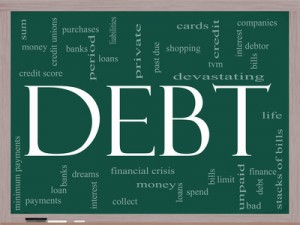 issues with debt