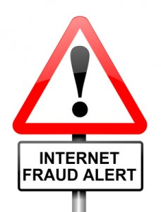 Internet Fraud Alert Sign