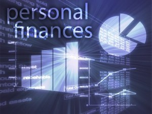 personal finances and graphs