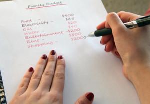 writing a budget