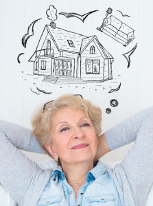 Retiree thinking of a house