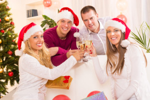 Save money on holiday parties