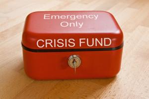crisis fund container