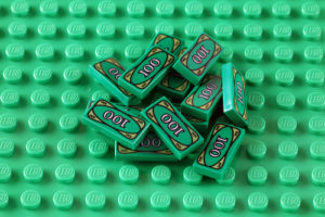 debt relief tips from playing Lego