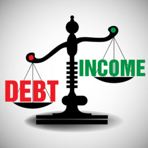 Median Income And Credit Card Debt Are High